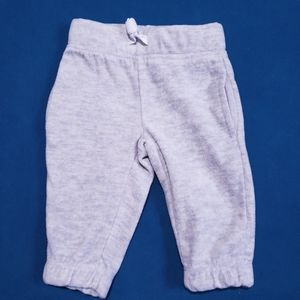 3-M Carter's Fleece Pants Joggers Grey